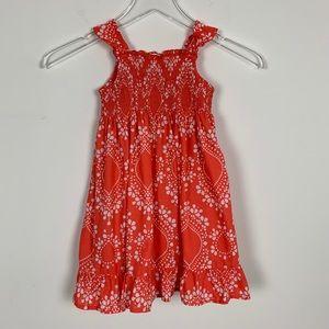 Carter's Ruffle Smocked Dress sz 3T